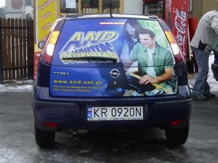 And Computers - samochód firmowy Opel Corsa